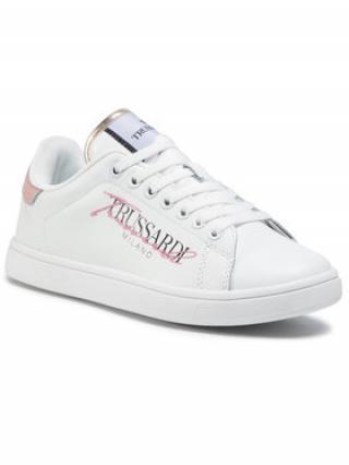 Trussardi Jeans Sneakersy 79A00553 Bílá dámské 36
