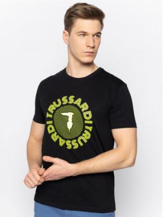 Trussardi Jeans T-Shirt 52T00327 Černá Regular Fit pánské M
