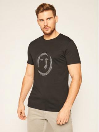 Trussardi Jeans T-Shirt 52T00368 Černá Regular Fit pánské S