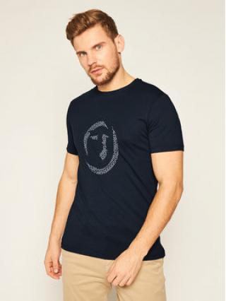 Trussardi Jeans T-Shirt 52T00368 Tmavomodrá Regular Fit pánské S