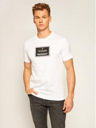 Trussardi Jeans T-Shirt 52T00380 Bílá Regular Fit pánské S