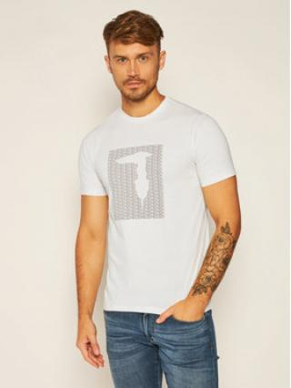 Trussardi Jeans T-Shirt Pure 52T00311 Bílá Regular Fit pánské L