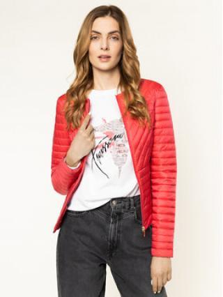 Trussardi Jeans Vatovaná bunda Matt Light 56S00414 Růžová Slim Fit dámské 42