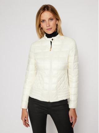 Trussardi Jeans Vatovaná bunda Quilted Mid Collar Shiny Light 56S00490 Béžová Regular Fit dámské 40
