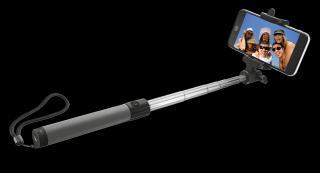 Trust Bluetooth Foldable Selfie Stick Black