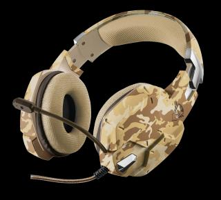 TRUST Carus GXT 322D Gaming Headset desert camo