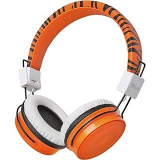 Trust Comi Kids Headphones oranžová