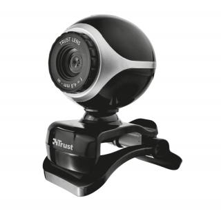 Trust Exis Webcam - Black/Silver