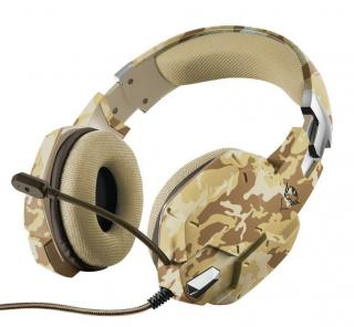 Trust GXT 322D Carus Gaming Headset Desert Camo