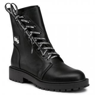 Turistická obuv BETSY - 908060/03-01G Black dámské Černá 36