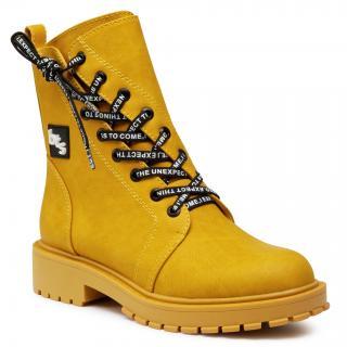 Turistická obuv BETSY - 908060/03-04G Yellow dámské Žlutá 36