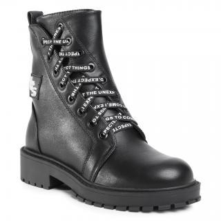 Turistická obuv BETSY - 908360/03-01G Black dámské Černá 33