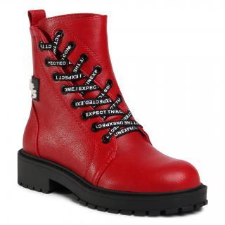 Turistická obuv BETSY - 908360/03-02G Red dámské Červená 33