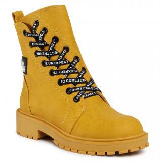 Turistická obuv BETSY - 908360/03-04G Yellow dámské Žlutá 33