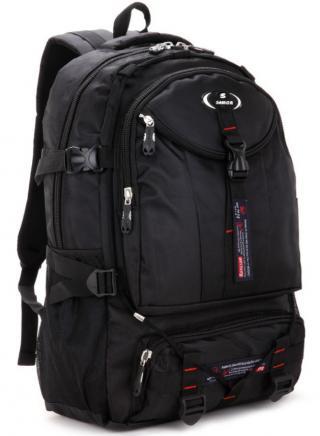 Turistický batoh vysoké kvality - Černý