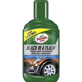 Turtle Wax GL Black in a Flash - lesk pro exter. plasty 300ml