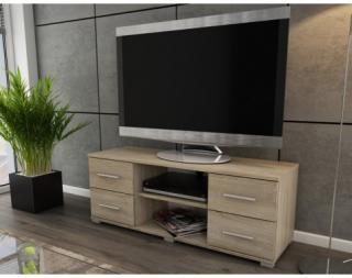 TV stolek Oskar TV, dub sonoma, 120 cm