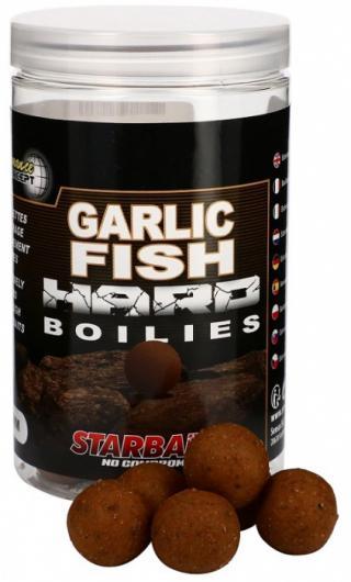 Tvrdé boilie starbaits hard concept 200gr garlic fish 20mm