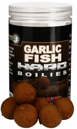 Tvrdé boilie starbaits hard concept 200gr garlic fish 24mm