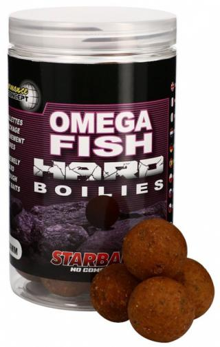 Tvrdé boilie starbaits hard concept 200gr omega fish 24mm
