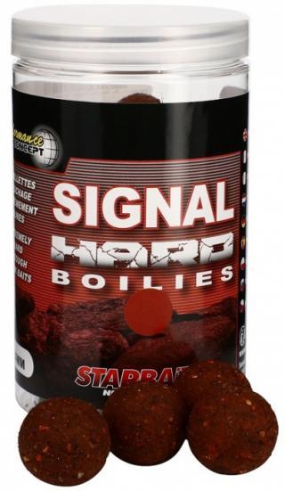Tvrdé boilie starbaits hard concept 200gr signal 24mm
