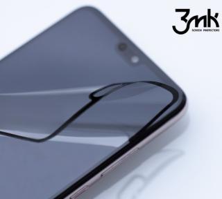 Tvrzené sklo 3mk FlexibleGlass Max pro Apple iPhone SE , černá