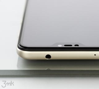 Tvrzené sklo 3mk HardGlass Max Lite pro Xiaomi Redmi 9C, černá