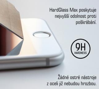 Tvrzené sklo 3mk HardGlass MAX pro Apple iPhone 12 Max, 12 Pro, černá