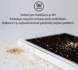 Tvrzené sklo 3mk HardGlass pro Apple iPhone 5S