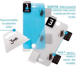 Tvrzené sklo 3mk HardGlass pro Samsung Galaxy A71, A72