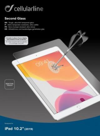 Tvrzené sklo Cellularline Glass pro Apple iPad 10.2