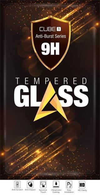 Tvrzené sklo CUBE1 Full Cover 2.5D pro Samsung Galaxy A31, black