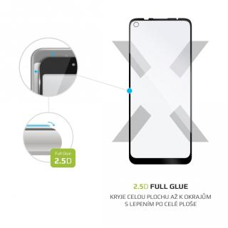 Tvrzené sklo FIXED Full-Cover Motorola Moto G9 Power, transparentní
