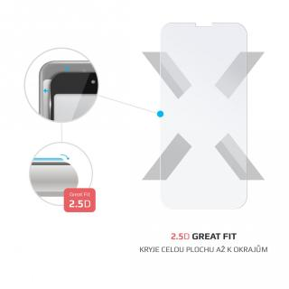 Tvrzené sklo FIXED pro Apple iPhone 12, transparentní