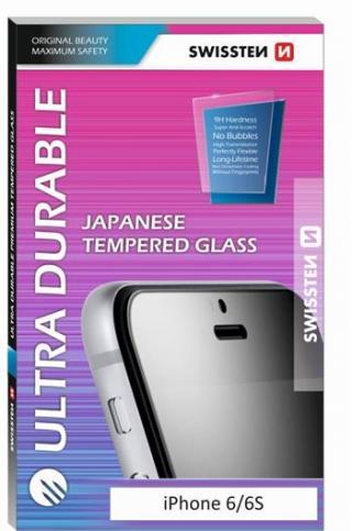 Tvrzené sklo Swissten Ultra Durable pro Apple iPhone X, transparentní