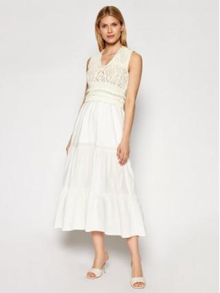 TwinSet Každodenní šaty 211TT3112 Béžová Regular Fit dámské XXL