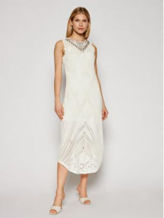 TwinSet Úpletové šaty 211TT3102 Béžová Slim Fit dámské XXL