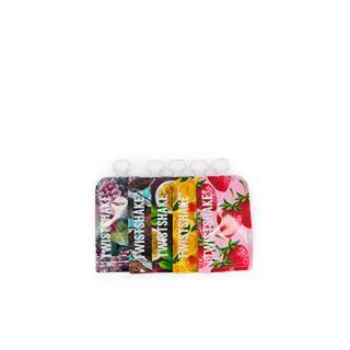 TWISTSHAKE Twistshake plnitelná kapsička 220ml Fruit 5 ks
