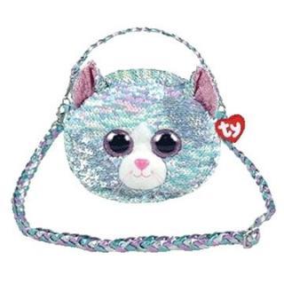 Ty Fashion Sequins kabelka s flitry WHIMSY - kočka