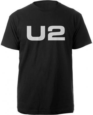 U2 Unisex Tee Logo S Black S