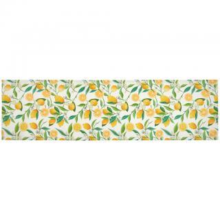 UBRUS BĚHOUN NA STŮL, 140/40 cm, žlutá, zelená, bílá - žlutá, zelená, bílá 140/40