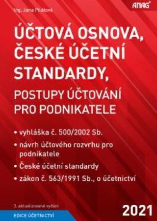 Účtová osnova, České účetní standardy, Postupy účtování pro podnikatele 2021