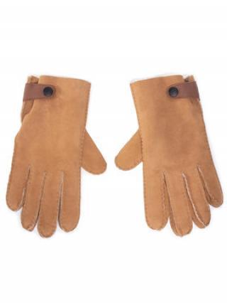 Ugg Pánské rukavice M Sheepskin Side Tab Tech Glv 18713 Hnědá pánské XL