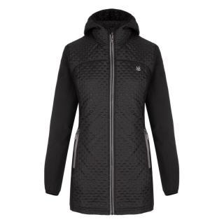 ULLY womens softshell coat black dámské XS