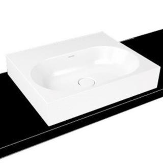 Umyvadlo na desku Kaldewei Centro 3057 60x50 cm alpská bílá otvor pro baterii, bez přepadu 903006013001 bílá alpská bílá