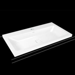 Umyvadlo na desku Kaldewei Cono 3084 90x50 cm alpská bílá otvor pro baterii, bez přepadu 902006013001 bílá alpská bílá