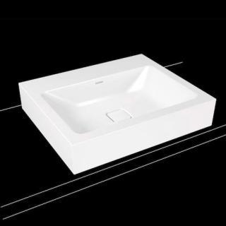 Umyvadlo na desku Kaldewei Cono 3085 60x50 cm alpská bílá bez otvoru pro baterii, bez přepadu 902106003001 bílá alpská bílá