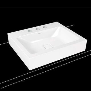 Umyvadlo na desku Kaldewei Cono 3085 60x50 cm alpská bílá bez přepadu 902106033001 bílá alpská bílá