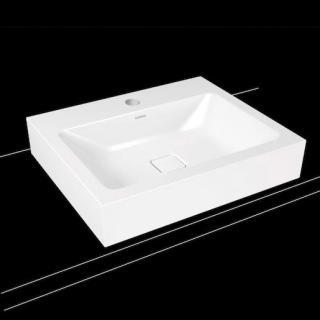Umyvadlo na desku Kaldewei Cono 3085 60x50 cm alpská bílá otvor pro baterii, bez přepadu 902106013001 bílá alpská bílá