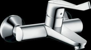 Umyvadlová baterie Hansgrohe Focus s prodlouženou rukojetí 150 mm chrom 31913000 chrom chrom